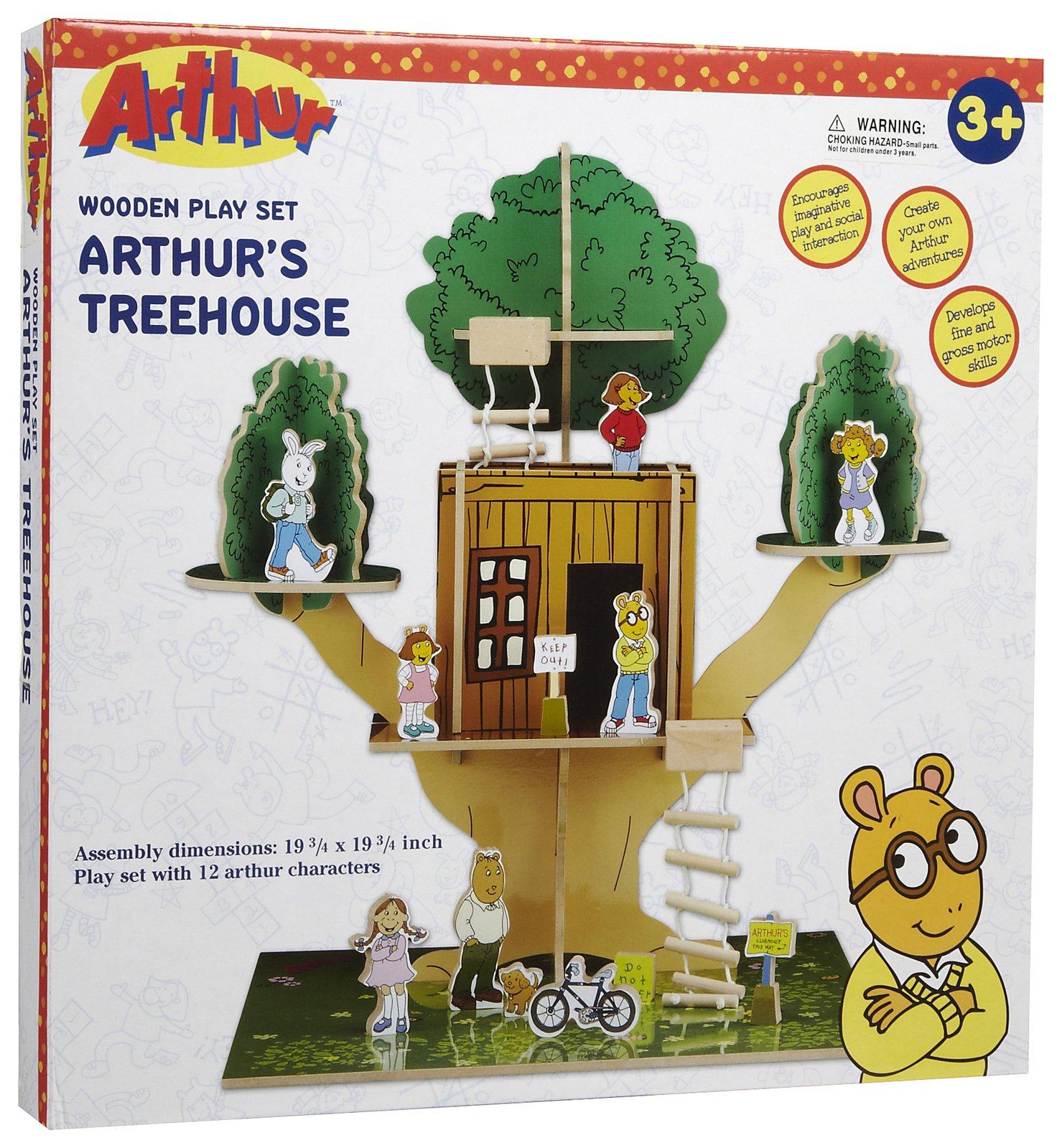 Arthur's Treehouse playset