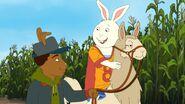 Buster riding Bernice 2
