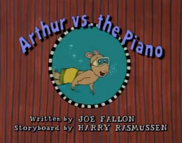 Arthur vs. the Piano Title Card.png