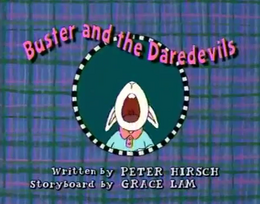 Buster and the Daredevils Title Card.png