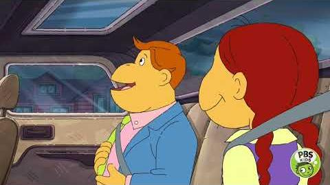 ARTHUR Muffy Goes on Vacation