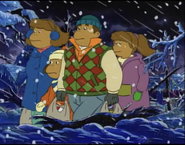 Frensky Family in Winter Clothes