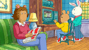 Arthur and Buster on the Computer