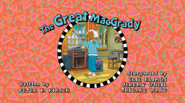 The Great MacGrady (Season 24 episode) Title Card.png