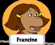 Francine's Tough Day Francine head 4
