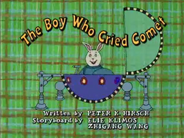 The Boy Who Cried Comet Title Card.png