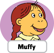 Francine's Tough Day Muffy head 1