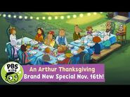 An Arthur Thanksgiving! - A Brand New Special on November 16th! - PBS KIDS