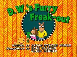 D.W.'s Furry Freak-out - title card.JPG