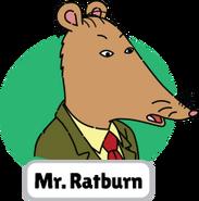 Francine's Tough Day Mr. Ratburn head 5