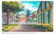 Read House Driveway background art