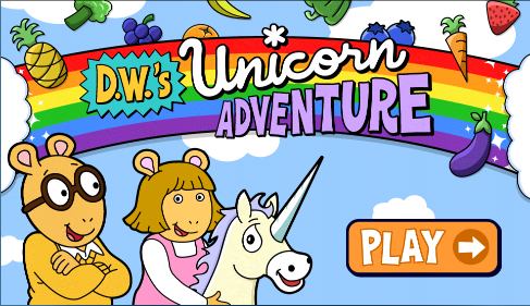 D.W.'s Unicorn Adventure
