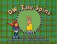 D.W. Tale Spins Title Card