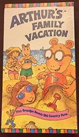 Arthur's Family Vacation (VHS)