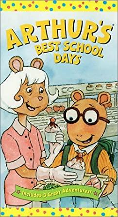 Arthur's Best School Days (VHS)