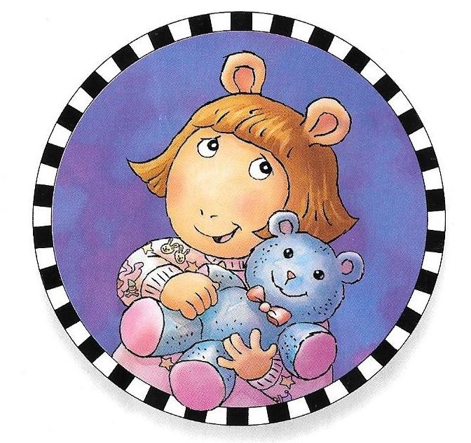 D.W.'s teddy bear