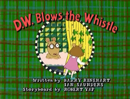 D.W. Blows the Whistle Title Card.png