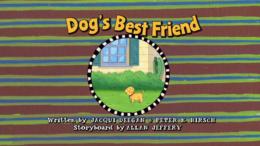 Dog's Best Friend Title Card.png