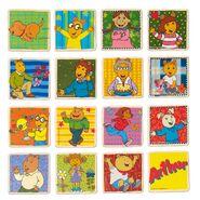 Arthur's concentration game tiles