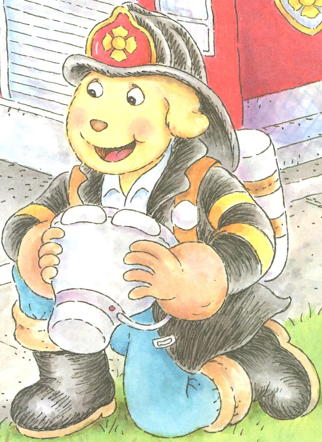 Firefighter (Arthur's Fire Drill)
