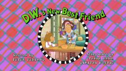 D.W.'s New Best Friend Title Card.png