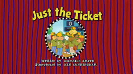 Just the Ticket Title Card.png