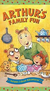 Arthur's Family Fun (VHS)