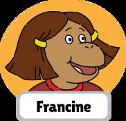 Francine's Tough Day Francine head 3