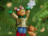 Arthur ornaments (Hallmark)