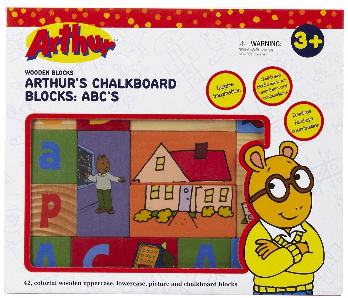 Arthur's Chalkboard Blocks