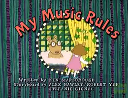 My Music Rules Title Card.png