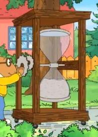 Giant hourglass