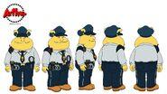 9 Binky Policeman