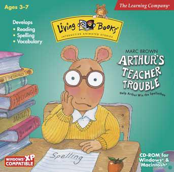 Arthur's Teacher Trouble (game)