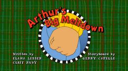 Arthur's Big Meltdown Title Card.png