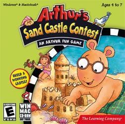 Arthur's Sand Castle Contest