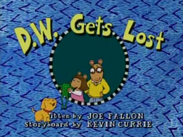D.W. Gets Lost Title Card.png