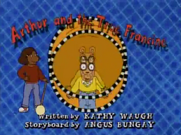 Arthur and the True Francine Title Card.png
