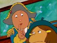 Brain as Napoleon shushes Francine