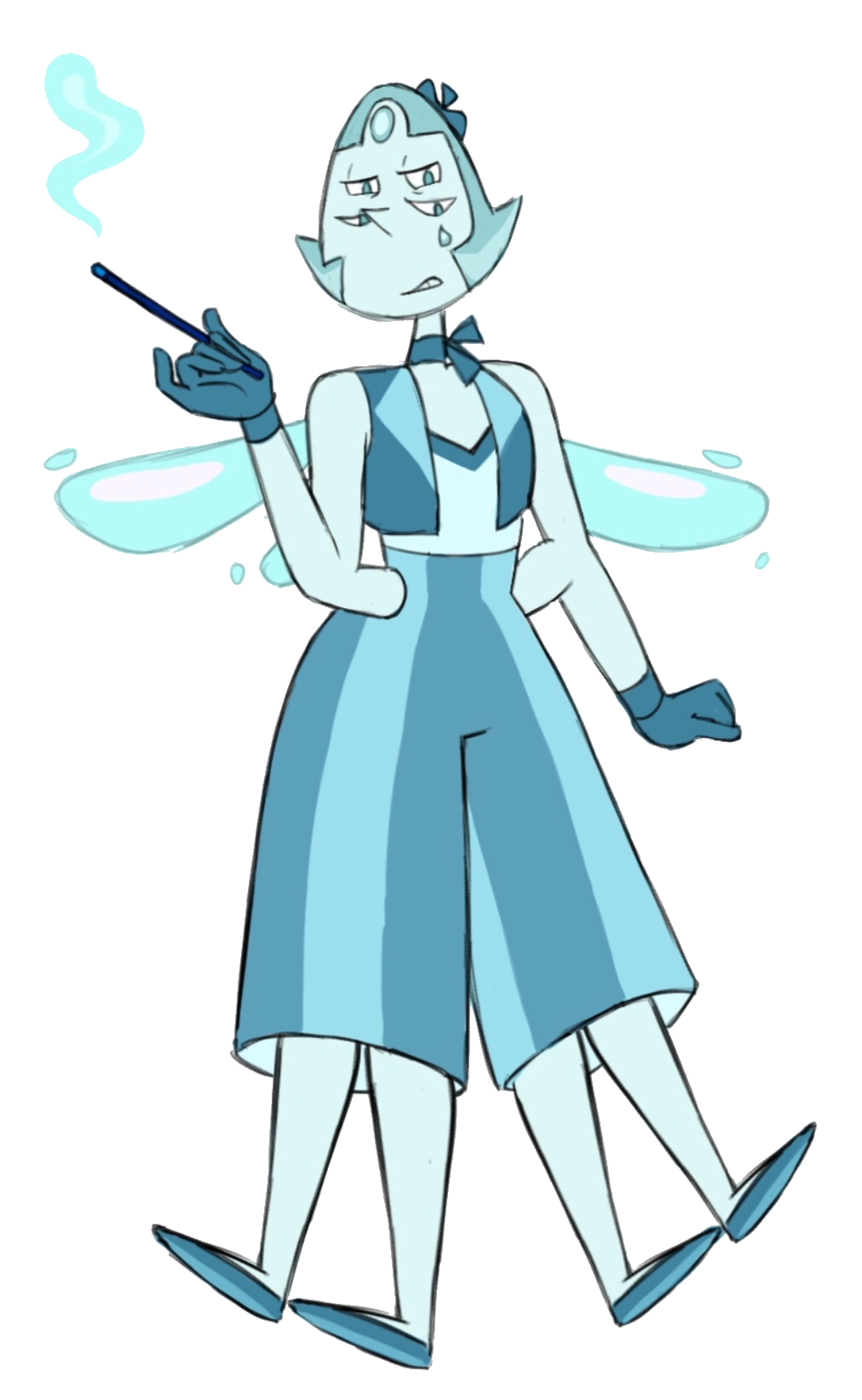 Unnamed Fusions/Pearl and Aquamarine