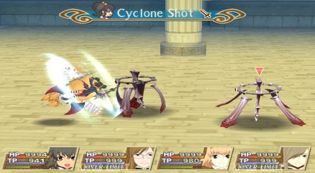 Cyclone Shot