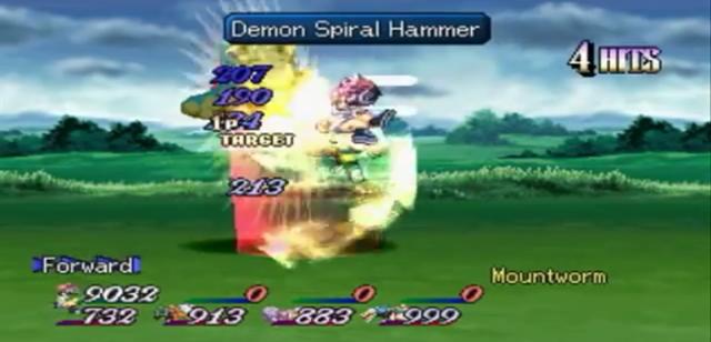 Demon Spiral Hammer