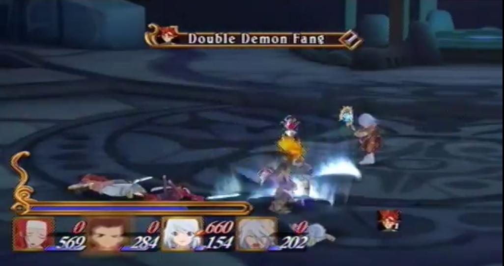 Double Demon Fang
