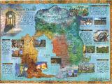 Asheron's Call: Map Poster