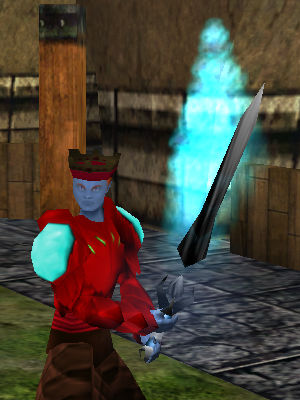 Shadowfire Isparian Two Handed Sword