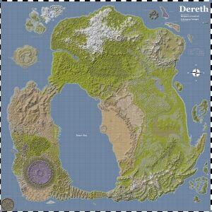Widgeon's Big Map of Dereth