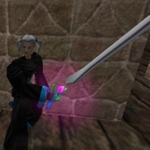 Enhanced Sparking Atlan Two Handed Sword