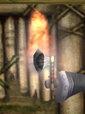 Flaming Throwing Axe