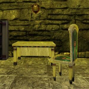 Count Dardante's Desk