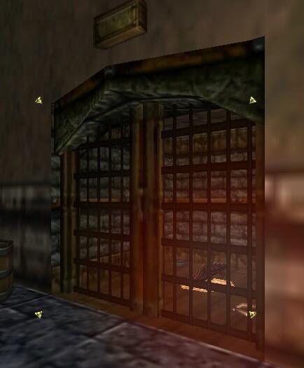 Shady's Cage Door